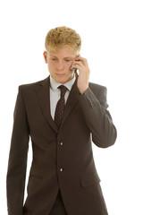 Businessman calls