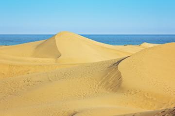 Sanddünen am Meer – Gran Canaria