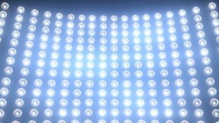 Stage light blue