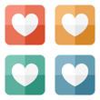 Valentine heart icon
