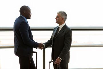 businessmen hand shaking