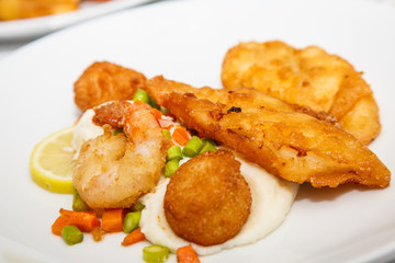 Fried Seafood Plate