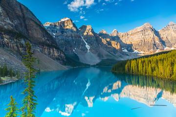 Moraine Lake Sunrise in Canada