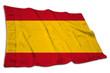 canvas print picture - Bürgerliche Flagge, Spanien