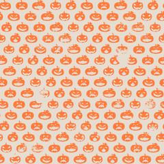 halloween pumpkin pattern
