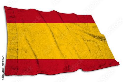 canvas print picture Bürgerliche Flagge, Spanien