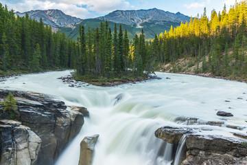 Sunwapta falls national park Canada