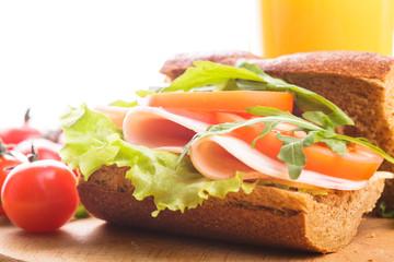 Wholegrain sandwich