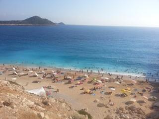 Antalya Kaş'daki Kaputaş plajı