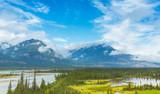 Saskatchewan River Crossing Valley canada