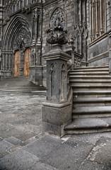Entrada iglesia de Arucas
