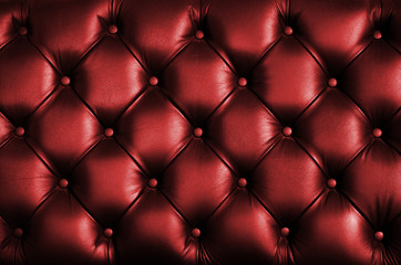 Leather texture of chair back