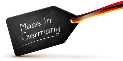 Plakette, Blackboard - Made in Germany