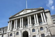 canvas print picture - The Bank of England in Central London