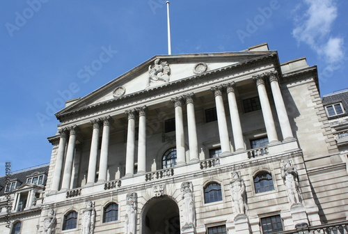 canvas print picture The Bank of England in Central London