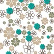 Постер, плакат: Обои с цветами | Wallpaper with Flowers