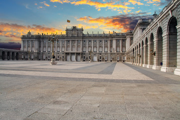 Madrid Royal palace, Spain