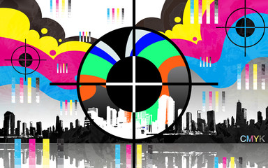 CMYK COMPLEMENTARY COLORS PAINT
