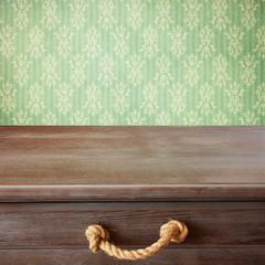 Retro table background