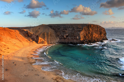 Papagayo Beach, Lanzarote, Canaries, Spain
