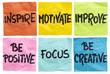 inspire, motivate, improve notes