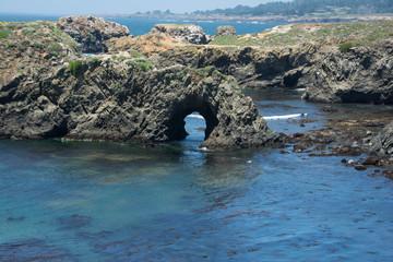 A natural arc, Mendocino