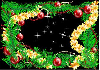 decorations of christmas tree