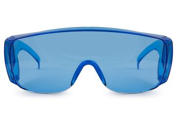 Safety blue glasses