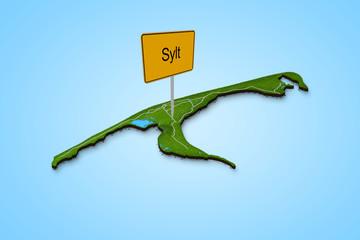 Stadtkarte Sylt