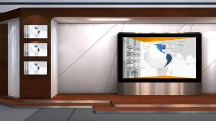 Business News TV studio 102j