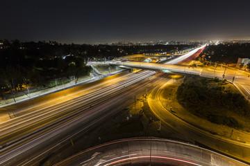 Sunset Blvd at the San Diego Freeway Night