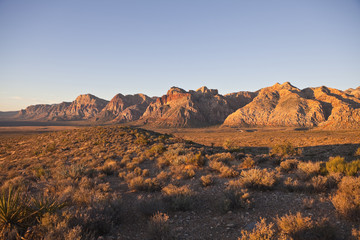 Red Rock National Conservation Area near Las Vegas