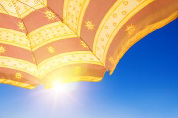 Sunshade Under Sun