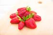 canvas print picture - Erdbeeren