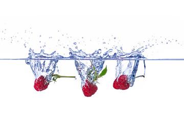 3 Himbeeren Splash