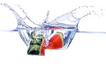 Wassermelone Splash