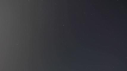 Stars at night time lapse 4K