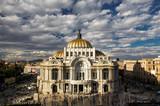 Museum of fine arts in Mexico city Palacio Del Bellas Artes DF