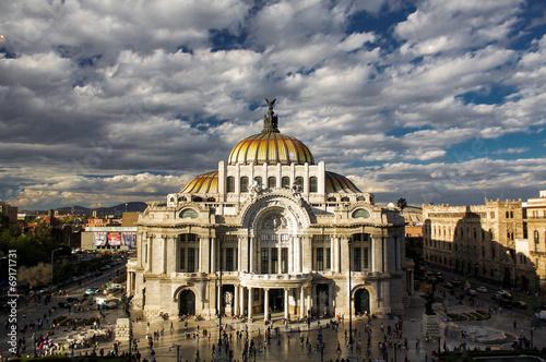 Museum of fine arts in Mexico city Palacio Del Bellas Artes DF - 69171731