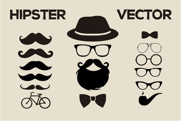 Hipster fashion vector 2015