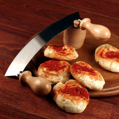pizzete al pomodoro