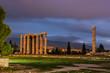 Obrazy na płótnie, fototapety, zdjęcia, fotoobrazy drukowane : The ruins of Zeus Temple