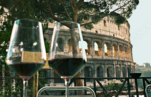 Canvas Rome Bon Appetit!