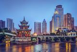 Fototapety Guiyang, China at Jiaxiu Pavilion