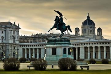 Statue of Archduke Charles of Austria in Vienna