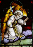 Angel (stained glass)