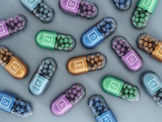 Mineral pills