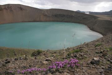 Kratersee Viti im Krafla-Gebiet - Island