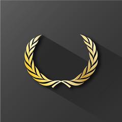 COURONNE DE LAURIER (palme prix médaille excellence lauriers)