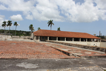 Slave Route Museum and the clouds, Cuba.